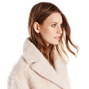 Cole Haan Wool and Mohair Cocoon Coat